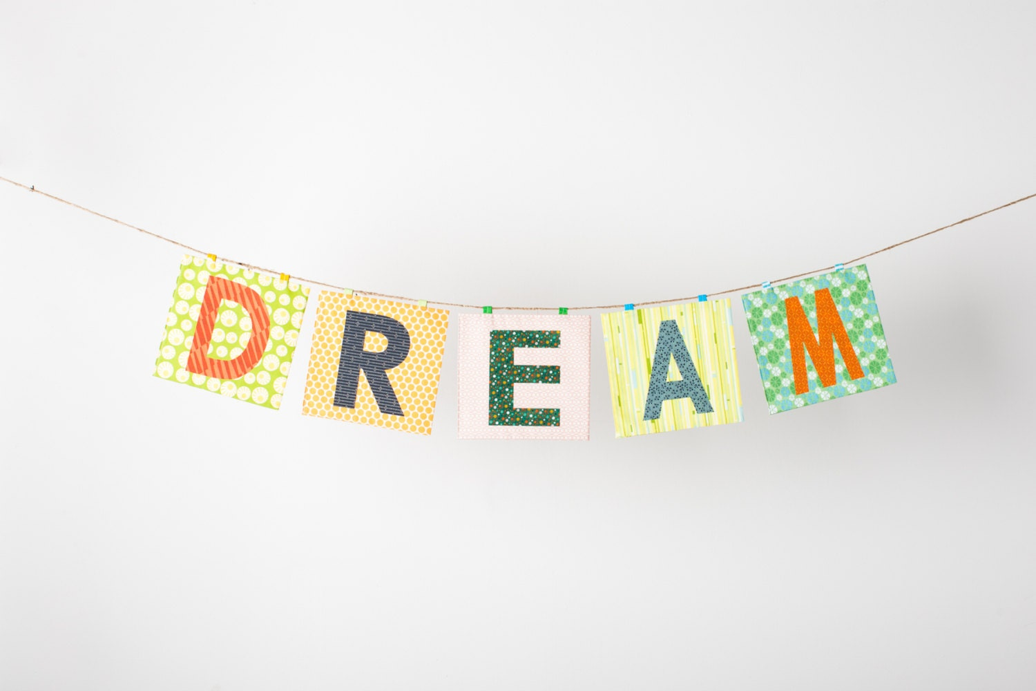 Custom Word Banner ~ Custom Name Banner ~ Baby Name Banner in the DREAM Collection