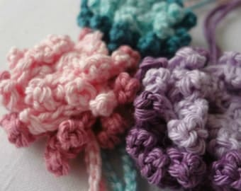 PDF Crochet Pattern -Crocheted Anemone Flower Headband - crocheted headpiece - instant download - sell what you make