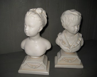 Off White Alexander Backer Bust Bookends