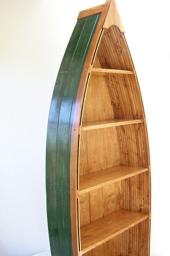 Items Similar To Boat Bookcase Height 69 Inches 5