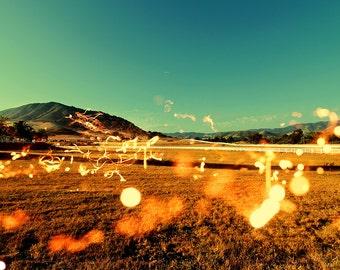 Surreal Fine art landscape photograph - Lightscape Photo Print- San luis obispo