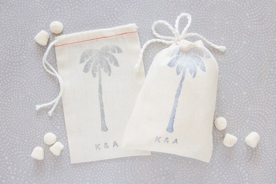 Wedding Favors - Beach Wedding Favor Bags - Tropical Wedding Favors ...