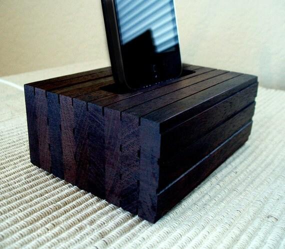 iPhone 5, 5S Cradle - Custom Charger - Handmade