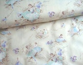 Japanese Fabric Cotton Yuwa - Chintsu Ballerina - a yard