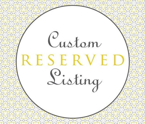 Custom Order Reserved  for Janine - Machine Embroidery - Digital Design File