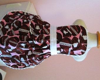 Cupcake Apron, Hostess Cupcake , Chocolate Cupcake, Pink Polka Dots, Toddler, Teen & Adult Apron