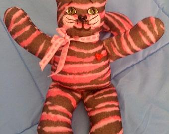 Stripped Tabby Cat