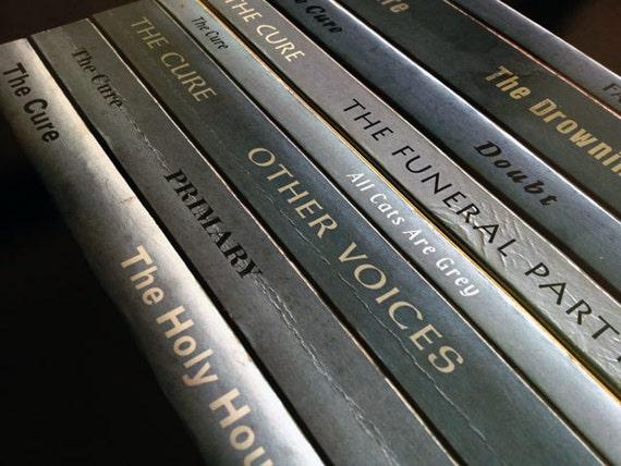 The Cure Faith Album As Books Poster Print Robert