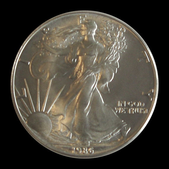 1986 Uncirculated American Silver Eagle
