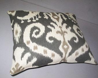 Modern cotton  print ikat patern Pillow Cover