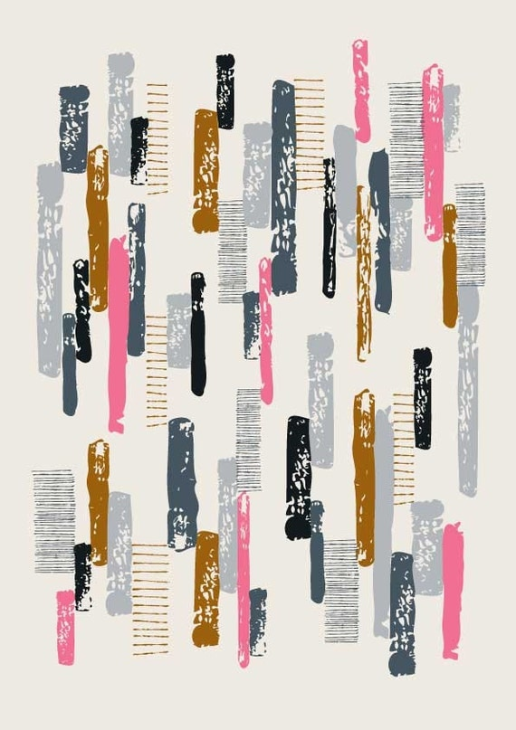Line Print No1, limited edition giclee print