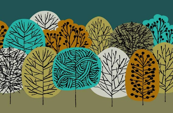 Fall Forest, limited edition giclee print