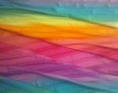 Ultimate Rainbow Gradation Cotton Lycra Knit FAbric