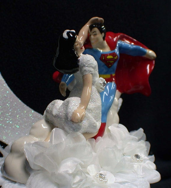 superman wedding cake toppers change lois hair color superman lois by yourcaketopper 20622
