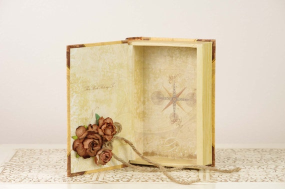Neutral Ring Bearer Book with Italy Theme