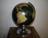 Vintage Black Water Globe
