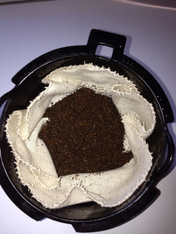 Eco Friendly Coffee Filters Basket Style for 4 cup and 8 to 12 cup Coffee Makers  Set of 2 Filters