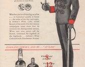 Vintage 1937 Dewar's White Label Scotch Ad