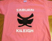 Samurai Power Shirt for Girls or Boys- Great for Birthdays