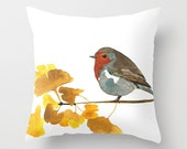 Bird Art Home Decor Pillow Cover Enlightenment