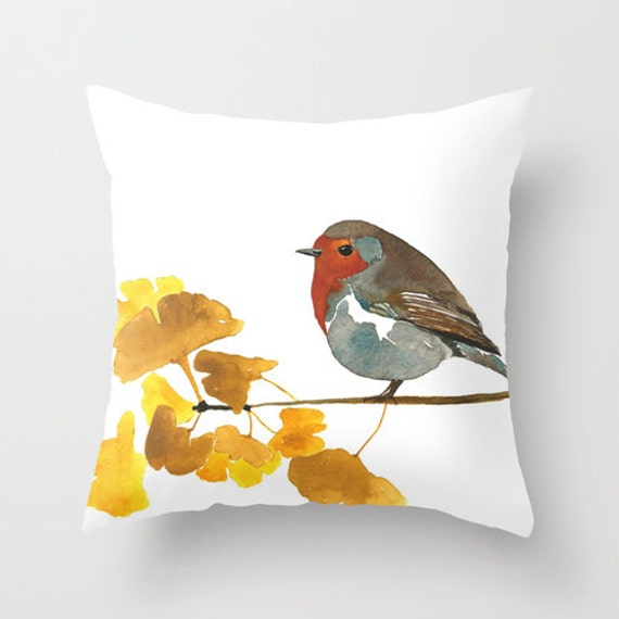 Bird Art Home Decor Pillow Cover Enlightenment