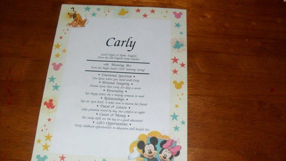 Mickey & Minnie Name Meaning