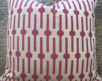 SALE Designer Pillow Cover -  16 x 16,18 x 18 -  Lollipop Pink