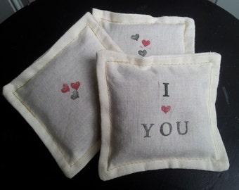 I Love You - Lavender Sachets (SET OF 3)