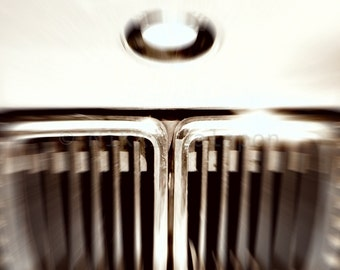 My Old BMW, Black and White Fine Art Photograph