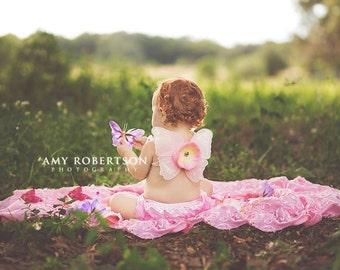 PRETTY PRECIOUS Wing Set - Preemie through Toddler Sizes Available