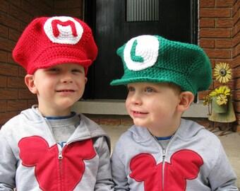 Super Mario Brothers - Mario or Luigi Hat