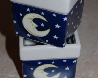Moon and stars votive candle customize scent and color just for you