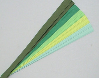 Field & Forest Mix : Lucky Stars Paper Strips (100)