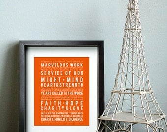 Doctrine & Covenants 4 - LDS Missionary Print