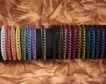 Custom Half-Persian Chainmail Bracelet
