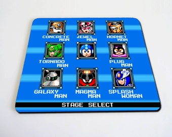 Megaman Stage Select mousepad