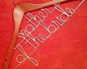 PERSONALIZED WEDDING HANGER - Mother of the Bride / Mother of the Groom / Double Decker
