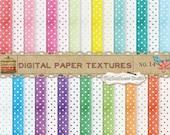 Dots Digital Scrapbook Paper Pack  No 14 - 12x12