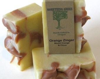 Orange Zinger - Handcrafted Natural Soap - Vegan