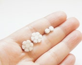 Snowflake - Baby Miniature Snowflake Post Earrings