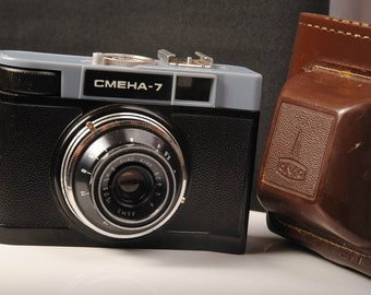 Smena 7 Lomo Scale Vintage Compact Soviet Russian 35mm Film Camera LOMOGRAPHY