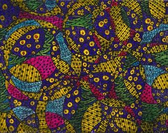 Abstract II - Original Mixed-Media on Canvas, 8 x 6