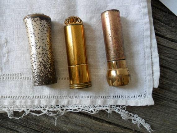 RESERVED lipstick tube . Dorothy Gray lipstick tube . vintage vanity . vintage photography props