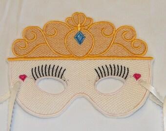 Embroidered Princess Mask - Child