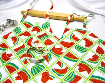 Watermelon Mother Daughter Aprons