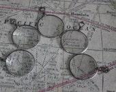 1 Antique Silver Monocle