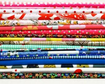 Fabric Bundle of 20, 20x25cm per piece