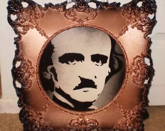 Edgar Allen Poe (framed)