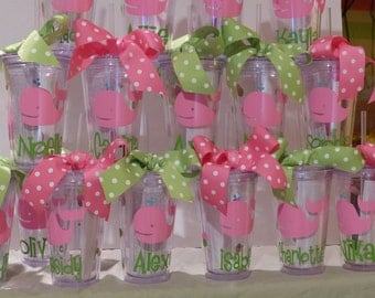 Personalized Tumblers - Kids Cups, birthday gifts, favors, goody bag