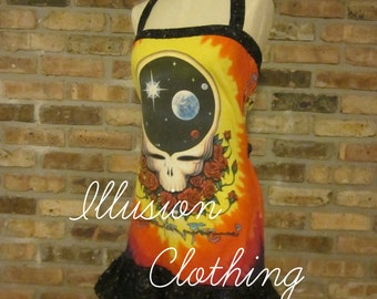 Custom Made-to-Order Grateful Dead Space Your Face Dress